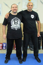 Instructor Alex Kostic & Vagelis Zorbas