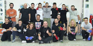 Devastating Elbow Strikes Seminar Group Photo