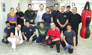 Straight Blast Seminar Group Photo