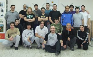 Joint Manipulations & Joint Breaking Seminar Group Photo