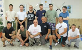 Kerambit Knife Seminar Group Photo