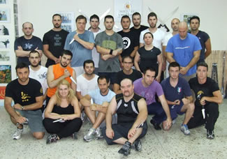 Contemporary Knife Fighting Seminar Group Photo
