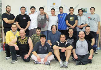 JKD Street Fighting Seminar Group Photo