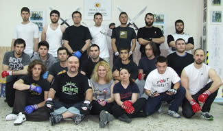 Dirty Street Fighting Seminar Group Photo