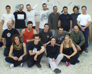 Russian Martial Art Boxing Biomechanics Seminar with the instructor Spyros Katsigiannis.
