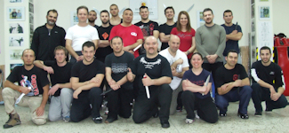 Tactical Blade Survival Seminar -1- Group Photo