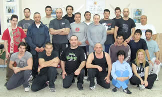 Jeet Kune Do Seminars with Tommy Carruthers from UK.