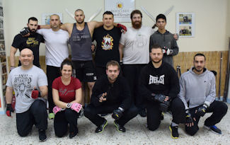 Kali Destructions seminar with instructor Vagelis Zorbas