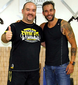 Instructor Nick Drossos & Vagelis Zorbas