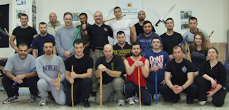 Expandable Baton Seminar -1- Group Photo