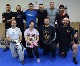 JKD Ground Fighting seminar with instructor Vagelis Zorbas