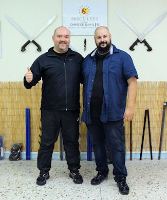 Instructor Jimmy Boharfa & Vagelis Zorbas