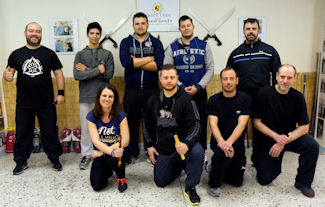 Pocket Stick seminar with instructor Vagelis Zorbas
