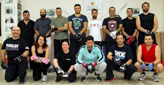 Functional Street Boxing seminar with instructor Vagelis Zorbas
