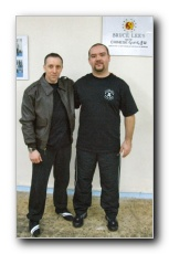 Sifu Tommy Carruthers & Vagelis Zorbas