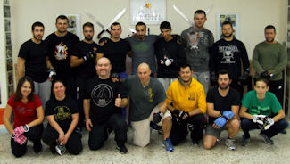 JKD Trapping Fighting Tactics seminar with instructor Vagelis Zorbas